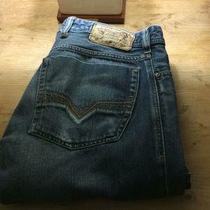 Diesel jeans... EUC ..Zatiny wash 008J4 👍